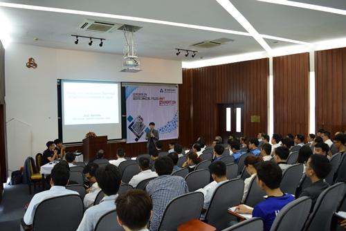 TW-ASIA Co., Ltd invited by Takenaka Corp to symposium presentation at Bach Khoa University